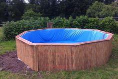 Fabriquez votre piscine hors sol en suivant l'exemple de Torben Jung, qui prouve qu'avec trois fois rien et du pur génie on peut faire de grandes choses.