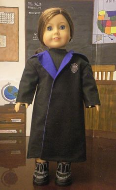 Harry Potter inspired wizarding robe by GomunkCreations on Etsy, $16.00