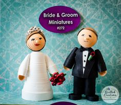 Spruce up your wedding with our Bride & Groom Miniatures Kit!