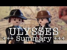 Ulysses to go (James Joyce in 18 minutes, English version) - YouTube - The 16th of June keeps coming back to us, year after year, and it is BLOOMSDAY! In order for you to be able to enjoy James Joyce's classical modernist novel set on this day in Dublin, Michael Sommer and his Playmobil ensemble tried the impossible and summarised ULYSSES in only 18 minutes - and nearly all the subtleties have been preserved… DISCLAIMER: WATCHING THIS VIDEO DOES NOT REPLACE READING THE PLAY. My…