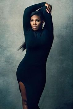 Serena Williams Flaunts Her Curves In New York Magazine Spread. Serena Williams is giving us true body goals in her latest photo shoot with New York Magazine. The tennis playing All-Star coined the… Serena Williams News, Serena Williams Tennis, Venus And Serena Williams, Beautiful Black Women, Amazing Women, Amazing Body, Beautiful People, Simply Beautiful, Norman Jean Roy