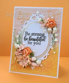 Flowers, Ribbons and Pearls: Creative Stamping 58 - Serene Beauty
