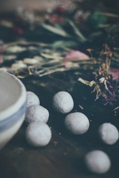 Wildflower Seed Bombs - 1 part seeds, 1 part soil, 3 parts clay | Free People Blog #freepeople