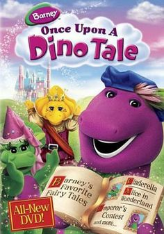 Barney - Once Upon A Dino Tale DVD Movie http://www.inetvideo.com/collections/inetvideo-barney-videos-on-dvd