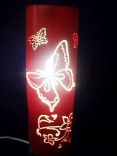 Luminaria em pvc, fazemos  desenho e cor desejada