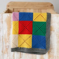 crochet baby blanket ~ Unable to locate a pattern for this particular blanket. This block is similar: https://www.pinterest.com/pin/408068416211324951/ ...or these: https://www.pinterest.com/pin/408068416207414396/ , https://www.pinterest.com/pin/408068416207061726/ , http://www.creativejewishmom.com/2012/06/simple-filet-crochet-starburst-square-pattern.html