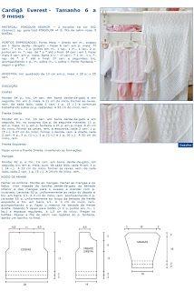 Armarinho São José, Aviamento, Tricô, Crochê, Barbante, Agulhas, linhas para Costura: Receita de Tricô Infantil