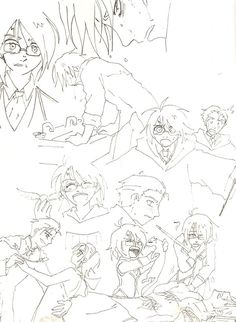 GwL: Harri and Draco by Divine-Nataku on DeviantArt Arte Do Harry Potter, Draco Harry Potter, Fanart Tv, Lily Potter, Fantasy Fiction, Drarry, Fantastic Beasts, Dungeons And Dragons