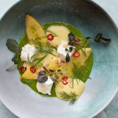 This extraordinary dish is a beautifully composed and delicious homage to summer. Get the recipe at Food & Wine.
