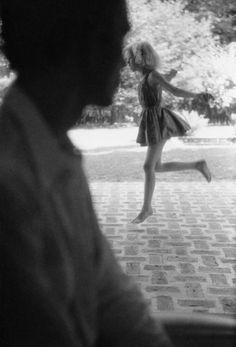 """nobrashfestivity: """" Saul Leiter, Remy, 1956 more """""""