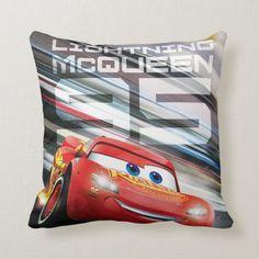 Cars 3 Lightning Mcqueen, Lightning Cars, Accent Pillows, Throw Pillows, Back In The Game, Boys Bedroom Decor, Disney Pixar Cars, Kawaii, Car Shop