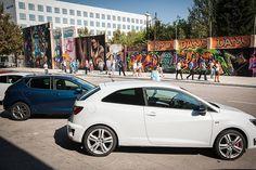 Perfekter Hintergrund für ein Foto vom #SEAT Ibiza, oder? -- SEAT Ibiza; Kraftstoffverbrauch, kombiniert: 5,9 – 3,4 l/100 km; CO2-Emission, kombiniert: 139 - 89 g/km; CO2-Effizienzklasse E - A+.*
