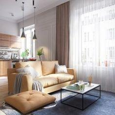 современная мебель в классической гостиной