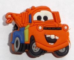 Mater the Tow Truck in Cars the Movie Disney JIBBITZ Crocs Hole Bracelet Shoe Charm by Disney. $6.99. Mater Jibbitz ~ Croc Shoe Charm Condition: NEW; NIP (Smoke-free home) Dimensions: 1 X 1 inch Quantity: One (1) Jibbitz Charm MSRP: $7.99 ~ Fun Jibbitz to add to anyone's collection. ~ YOU WILL RECEIVE THE EXACT ITEM SHOWN IN THE PHOTO ~ glos-collectibles.hostedbyamazon.com