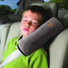 2019 Kids Sleep Car Seat Belt Pillow Pads Shoulder Neck Headrest Support Strip L