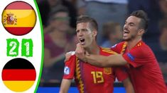 Spain Vs Germany 2-1 Highlights    UEFA U21 Championship Final 2019 HD Spain Vs, Euro, Highlights, 21st, Germany, Youtube, Luminizer, Deutsch, Highlight