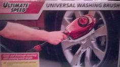 Car Caravan Garden UNIVERSAL WASH AND CLEANING BRUSH  (ultimate speed) Brush Cleaner, Caravan, Cleaning, Garden, Garten, Lawn And Garden, Makeup Brush Cleaner, Gardens, Home Cleaning