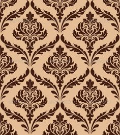 Floral Damask Seamless Pattern  #GraphicRiver         Floral damask seamless pattern for background and wallpaper design. Editable EPS8 and JPEG (can edit in any vector and graphic editor) files are included                     Created: 5 December 13                    Graphics Files Included:   JPG Image #Vector EPS                   Layered:   No                   Minimum Adobe CS Version:   CS             Tags      abstract #antique #backdrop #background #classic #damask #decoration…