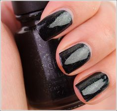{Smoke and Ashes (District 12, Mining) China Glaze} I just got this and I can't wait to paint my nails with it.