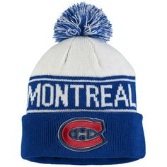 Montreal Canadiens  NHL 100 Classic Cuffed Knit Hat #habs #canadiens #nhl100classic Ml B, Hats Online, Montreal Canadiens, Nhl, Knitted Hats, Winter Hats, Beanie, Style Inspiration, Knitting