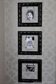 how to stencil a wall, wall stencil, DIY wall stencil, valspar gray paint