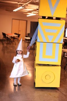 Ida and Totem halloween costume from monument valley game :)