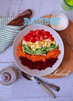 rainbow salad