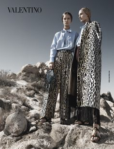 Valentino I Spring/Summer 2014 I Models: Auguste, Malaika, Ine, Maartje, Esther I Photographer: Craig McDean.