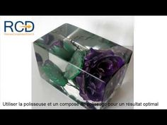Comment faire une inclusion avec de la résine de coulée transparente - YouTube Decorative Boxes, Diy Crafts, Resins, Magic, Youtube, Crafts, How To Make, Tips And Tricks, Homemade