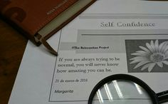 #TheReinventionProject: Self confidence