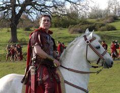 Ciaran Hindis as Gaius Julius Caesar - Rome (HBO)