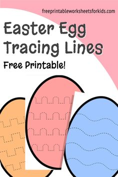 This simple preschool fine motor activity will help develop your students' fine motor muscle strength and allow them to practice correct pencil grip. Prewriting skills like tracing are crucial for building hand-eye coordination, confidence, concentration and focus. Download these free printable Easter Egg tracing worksheets as a quiet independent game for early finishers in your class this Spring! #eastereggtracing #prewritingskills #preschoolfinemotoractivity #freeprintableworksheetsforkids Tracing Worksheets, Free Printable Worksheets, Free Printables, Prewriting Skills, Tracing Lines, Pencil Grip, Easy Arts And Crafts, Early Finishers, Pre Writing