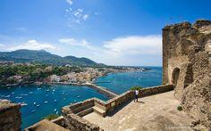 Ischia Ponte view from the castle - Il Gattopardo Hotel Terme & Beauty Farm