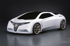Honda FC Sport is designed to run like one in the near hydrogen auto world of the future.