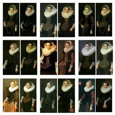 Portrait de femmes a
