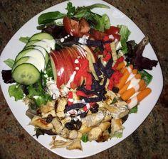 deliciosa ensalada saludable