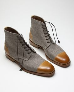 Zonkey boot. These shoes are so well designed that I did a lot of pins on them on my Mens Footwear board. I could not decide which ones to pin. A great looking handcrafted shoe.