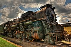 Old Steam Locomotives | Old steam locomotive. - HDR Photo | HDR Creme