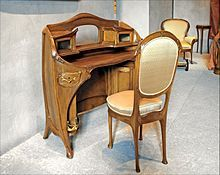 Bildergebnis für art nouveau furniture