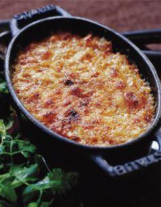 Gratin de crozets à la tomme de savoie - recette clic sur photo