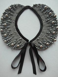 Hecho a mano collar de perla, collar estilo vintage