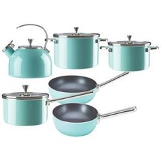 Kate Spade New York All in Good Taste Turquoise Cookware