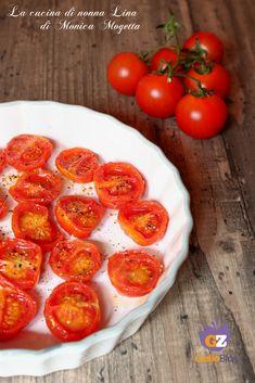 #pomodorini #confit #pomodoriniconfit #ricettafacile #lacucinadinonnalina