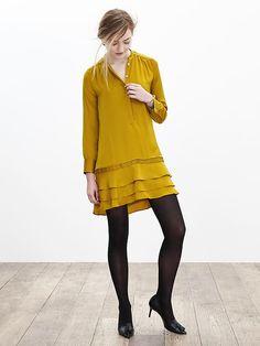 ティアードラッフル シャツドレス Product Image