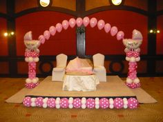 Are you looking for a balloon decoration that is as beautiful as your baby girl? visit us at www.merabubbly.com India's Super Market for the World's Best Balloons! Stage Decorations, Balloon Decorations, Helium Balloons, Babyshower, Bubbles, Toddler Bed, Baby Sprinkle Shower, Baby Shower, Baby Showers