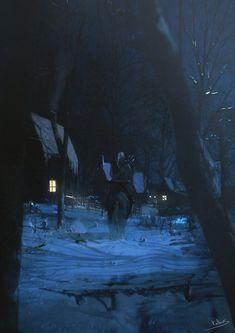 Geralt where it's the snow ?? by Kalberoos.deviantart.com on @deviantART