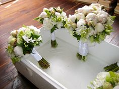 DIY bouquets. This reminds me of Thumper and I want to eat these flowers like him.