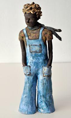 sculpture by Janice Cormier, via Behance