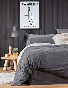 slaapkamer - grijs - grey