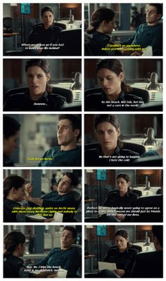 It's not just me and the guys in my life, all women want warm while guys like it cold Rookie Blue Season 5 Episode 5 #McSwarek